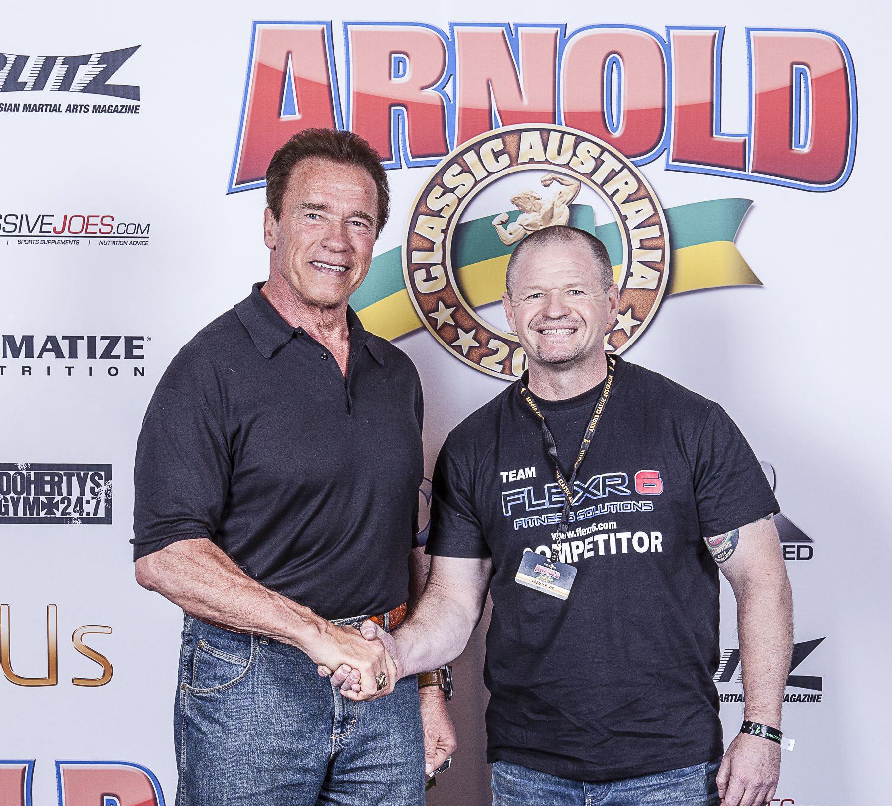 Arnold Schwarzenegger Flexr6 Ken Ross