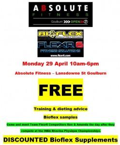 Absolute Bioflex Promotion 29 Apr 13