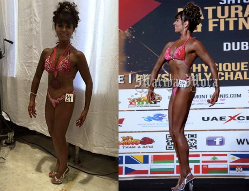 Adele Haussman INBA World Championships 2015 Dubai