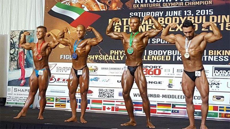 INBA World Championships 2015, Dubai Competitor Leo Andersson