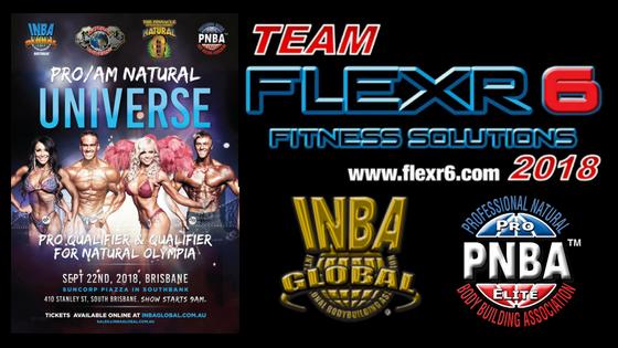 Team Flexr6 Onstage