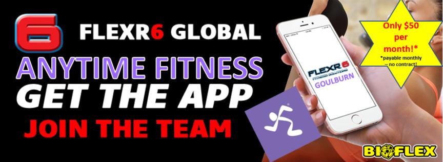 Anytime Fitness Goulburn - get the App